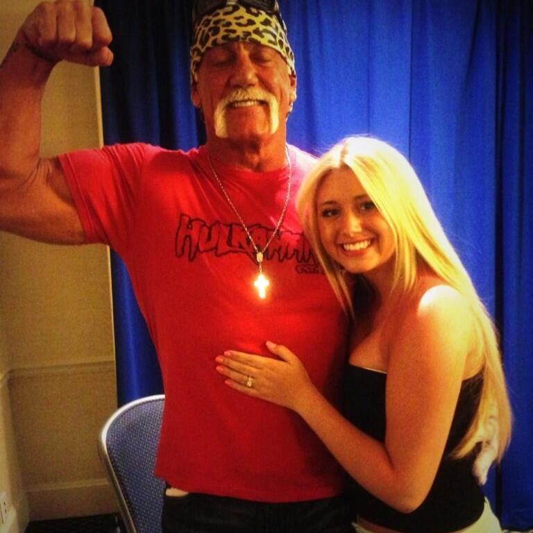 Baby Beefcake w/ Hulk Hogan